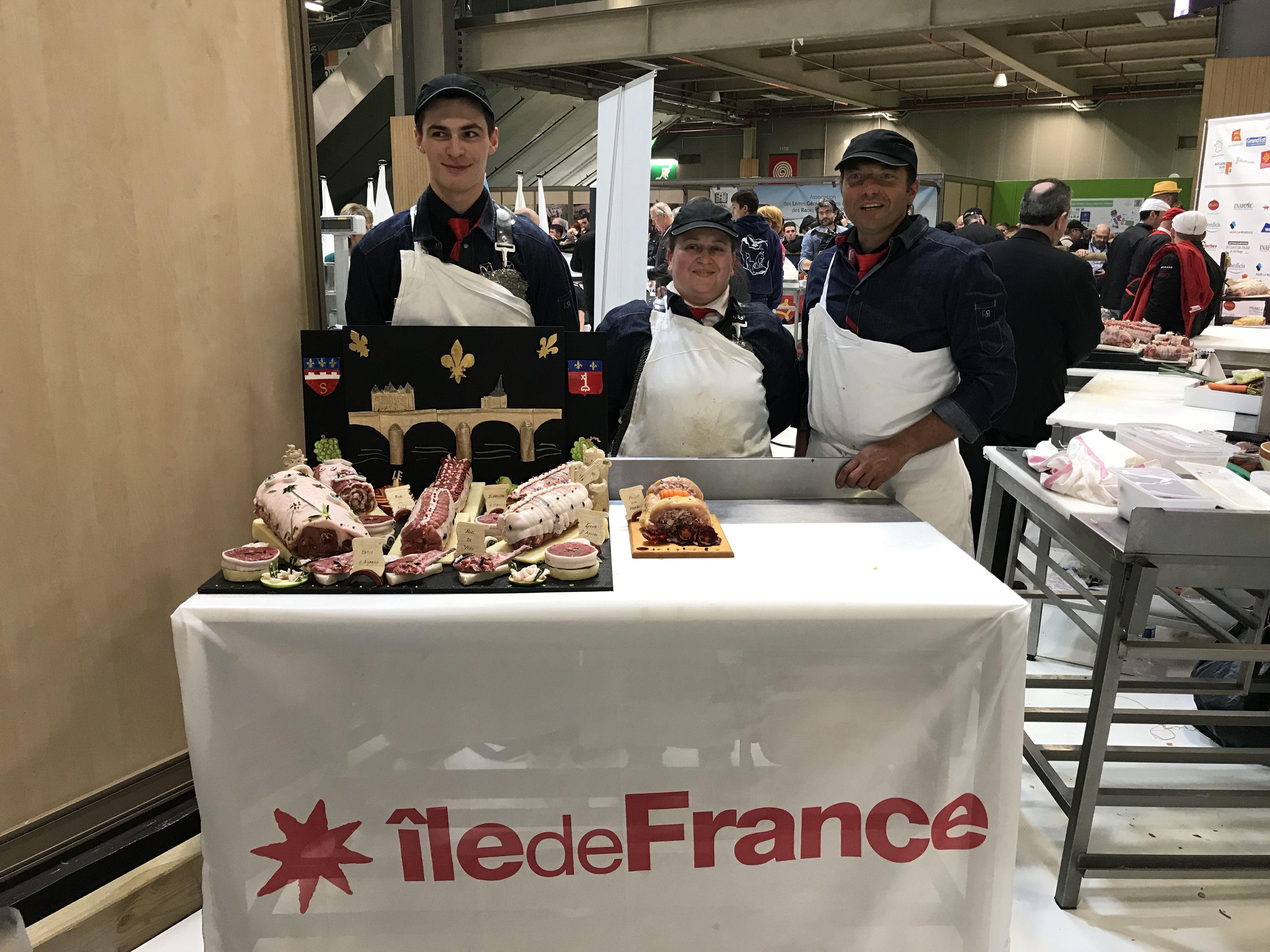 Concours régional de bouchers au SIA 2019