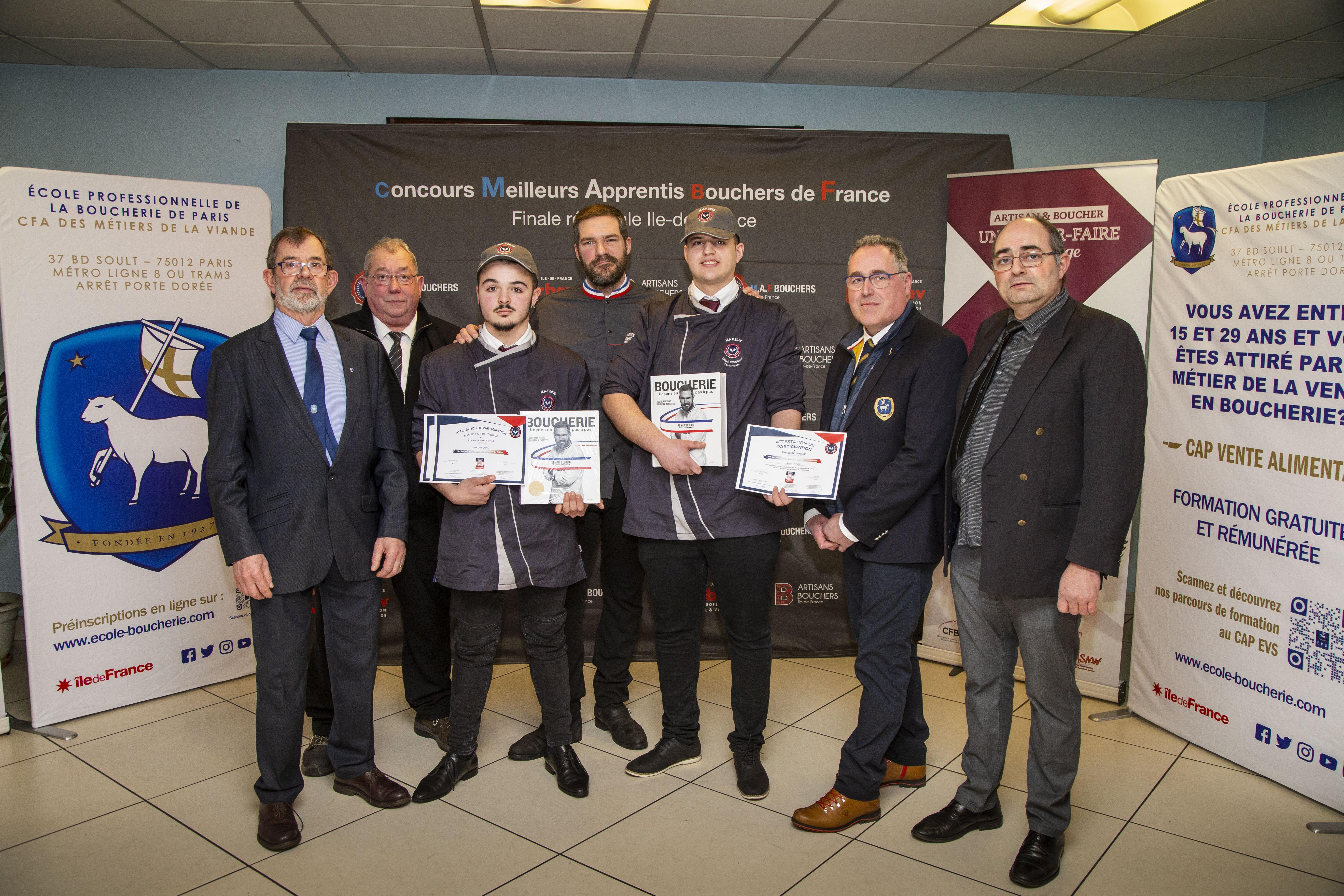 J-2 : Finale Nationale du Concours Un des Meilleurs Apprentis Bouchers de France